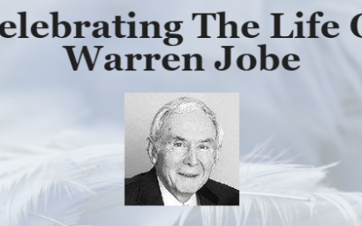 Celebrating The Life of Warren Jobe
