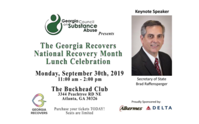 The Georgia Recovers National Recovery Month Lunch Celebration