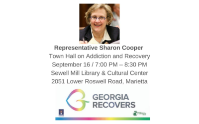 Representative Sharon Cooper Town Hall on Addiction and Recovery