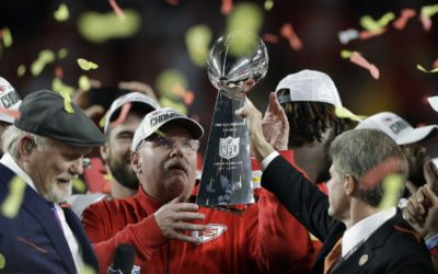For the Reid family, Andy's first Super Bowl win was for late son, Garrett